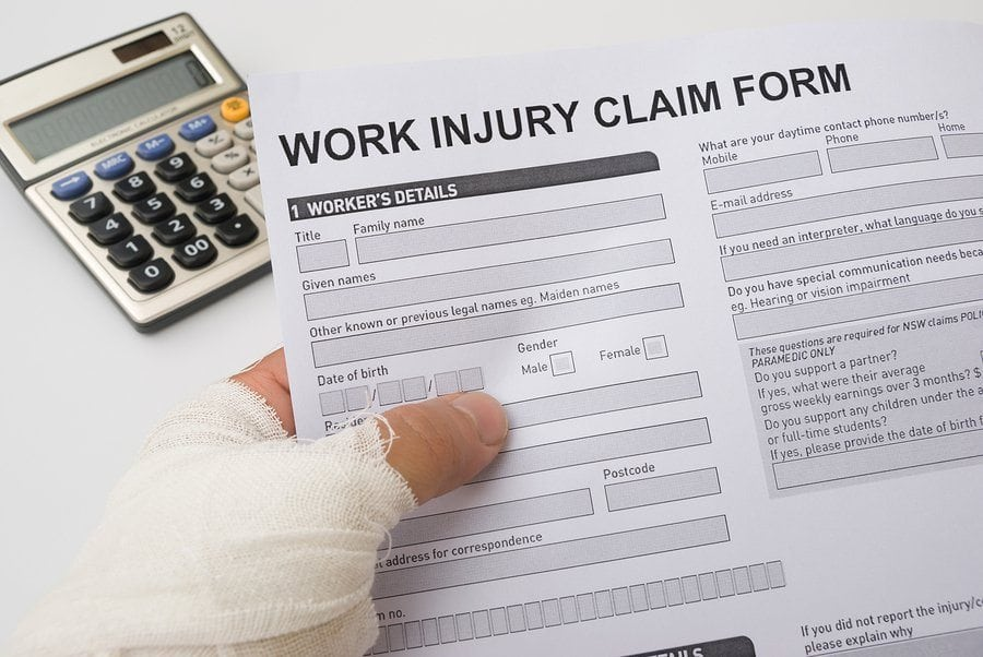 bigstock Hurted Hand Holding A Work Inj 43533628 1 - Tips for Reducing Workers Compensation Claims