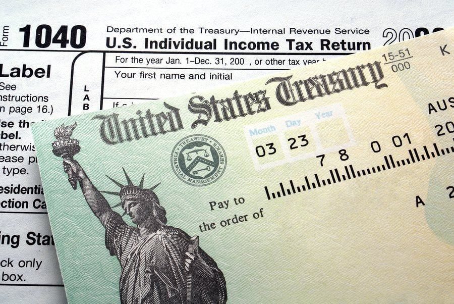 bigstock Tax Return Check 3982587 1 - What to do if Your Tax Refund is Stolen