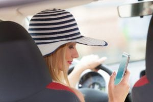 1704 PP 1 Texting While Driving 300x200 - Automobile insurance rates are on the way up because of distracted driving…